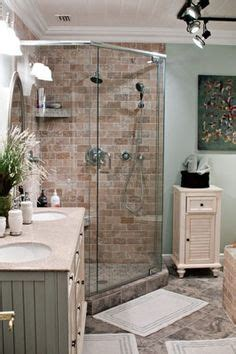 corner shower  small bathroom images