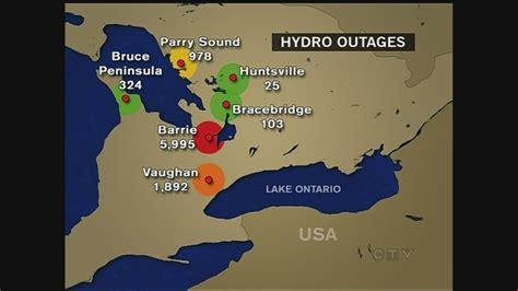 storms left thousands   dark ctv barrie news
