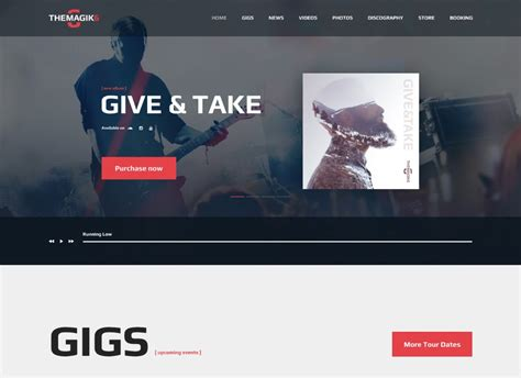 Magic lets you design a variety of dynamic visuals from scratch, using many effects Top 10 Audio and Radio WordPress Themes for Your Broadcasting and Music Site - TemplateMag