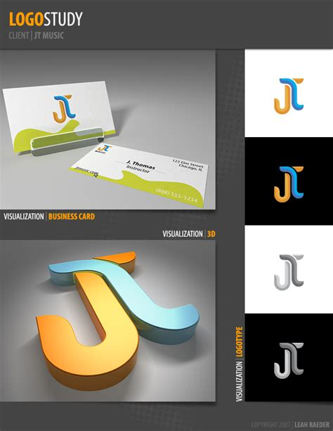 logo study jt   leahzero  deviantart