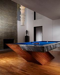 Modern Pool Table by MITCHELL Exclusive Billiard Designs