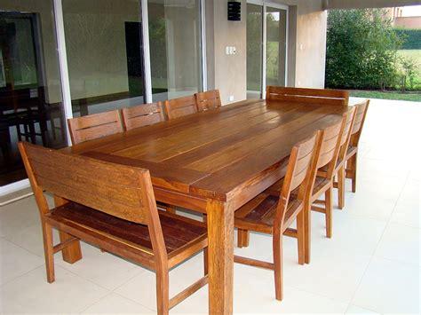 comedores de madera del arbol com ar muebles de madera