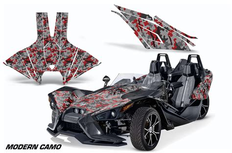 Decal Graphic Sticker Kit For Polaris Sligshot Sl Roadster