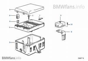 Bmw E30 Sicherungskasten Fusebox Fuse Box Cover Kasten