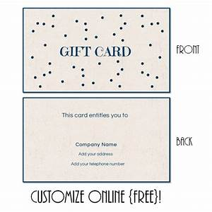 avon gift certificates templates free - gift card template