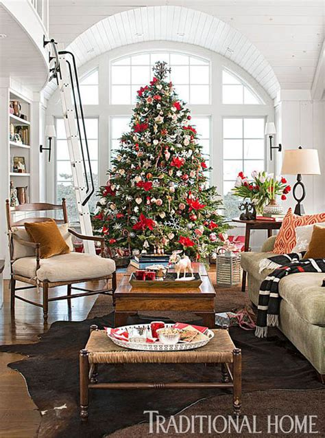 breathtaking christmas living room decorating ideas
