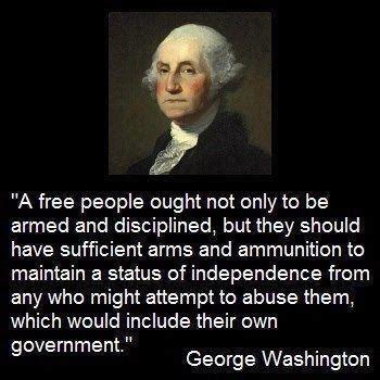 When george washington spoke, people listened. Famous Quotes Second Amendment. QuotesGram