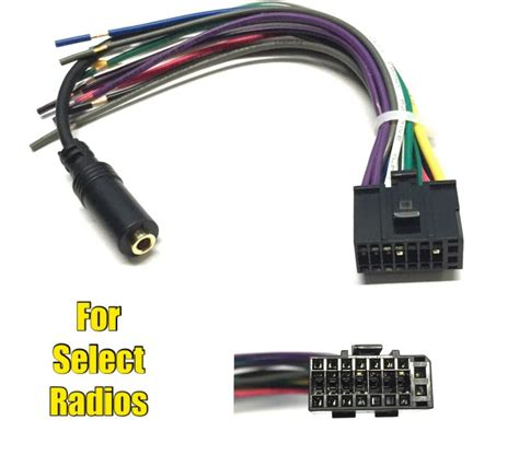 car stereo radio replacement wire harness plug