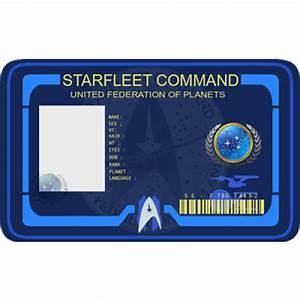 Starfleet Command costume ID Card cosplay From the ...