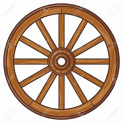 Wagon Wheel Clipart Wooden Wheels Carriage Vector