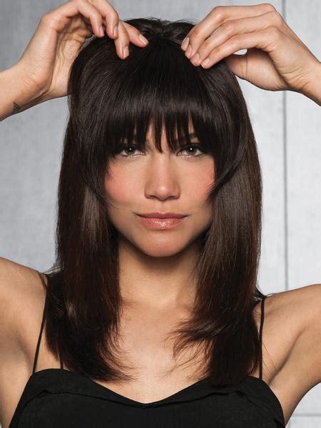 Clip In Human Hair Fringe Bangs By Hairdo