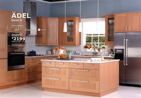 ikea maple kitchen cabinets ikea adel kitchen 2199 for 10 x 10 kitchens 4582