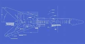 Gibson Flying V Guitar Templates