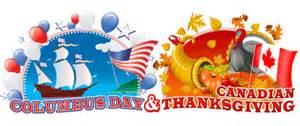 columbus day canadian thanksgiving celebrate october 9
