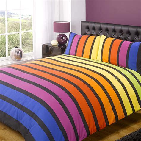 striped bright quilt cover tonys textiles tonys