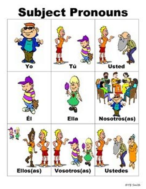 36 Best Images About Pronombres, Yo, Tú, Él, Ella, Nosotros, Vosotros, Ellos, Ellas, Ustedes On