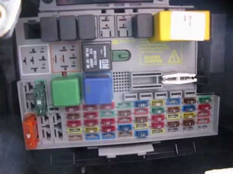 astra estate fuse box - 28 images - fuses and relays box ... on