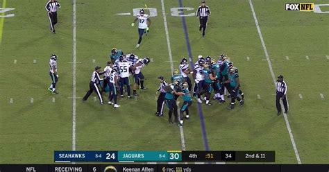 seahawks jaguars fight discipline coming  players