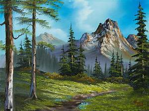 Wilderness Trail Painting by Chris Steele