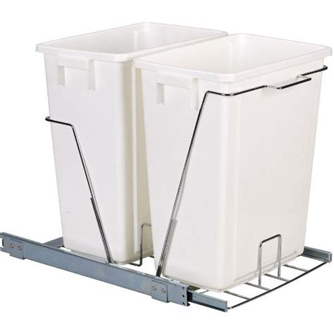 cabinet trash can slider household essentials cabinet sliding trash