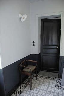 bicolore noir  blanc dans le couloir bricolage  diy