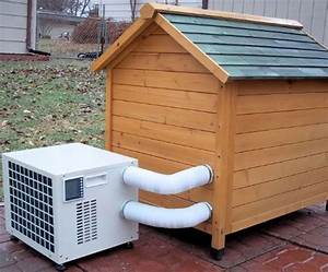 Dog house a c unit incredible things for Dog ac unit