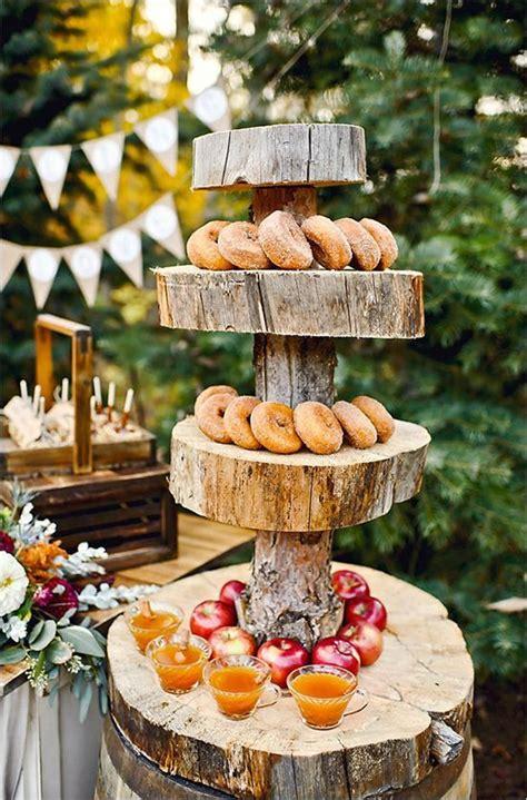 40 Amazing Outdoor Fall Wedding Décor Ideas Deer Pearl