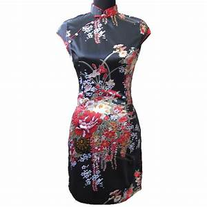 robe chinoise rouge et noire images With robe chinoise rouge