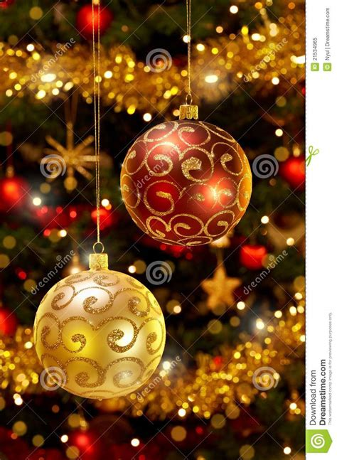 baubles on christmas tree baubles hanging on tree stock image image 21534965