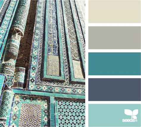 awesome teal color scheme  fall decor ideas trending decoration nuancier couleur