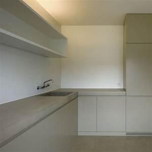 Arbeitsplatte Küche Beton : k che mit beton arbeitsplatte ~ Watch28wear.com Haus und Dekorationen