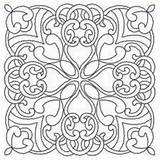 Outlines Celtic Designs Quilt Embroidery Coloring Mandala Patterns Squares Megan Maybe Would Pretty sketch template