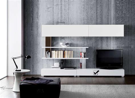 etagere murale chambre banc tv avec tiroir laqué blanc design standard l