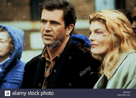 mel gibson and rene russo mel gibson rene russo ransom 1996 stock photo royalty