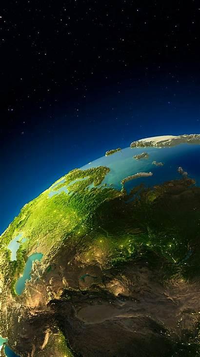 Iphone Earth Planet 3d Digital Wallpapers Iphoneswallpapers