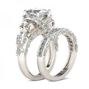 twist wedding band skull wedding rings wedding rings