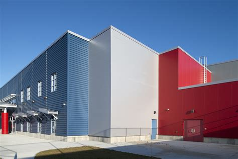 twin rinks ice center turns  insulated metal panels