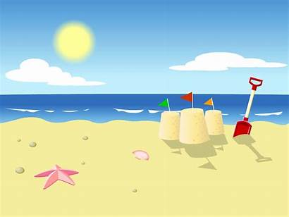 Clipart Summer Background Cliparts Beach Clip Library