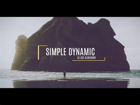 free after effects slideshow templates free after effects cs5 template simple dynamic slideshow