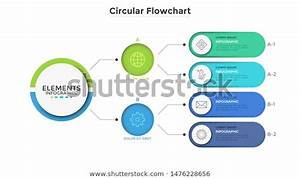 Workflow Diagram Flowchart Connected Colorful Rounded