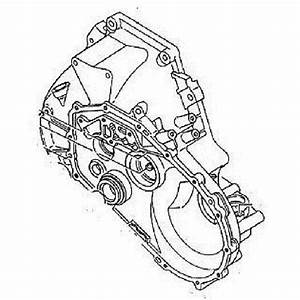 Gm Transmission Housing  Part Number  97133348  Gm