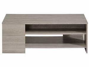 table basse rectangulaire warren silex chez conforama With salle a manger warren silex