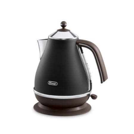 Delonghi Icona Kettle And Toaster Black by De Longhi Vintage Icona Kbov3001 Bk And Ctov4003 Bk Kettle