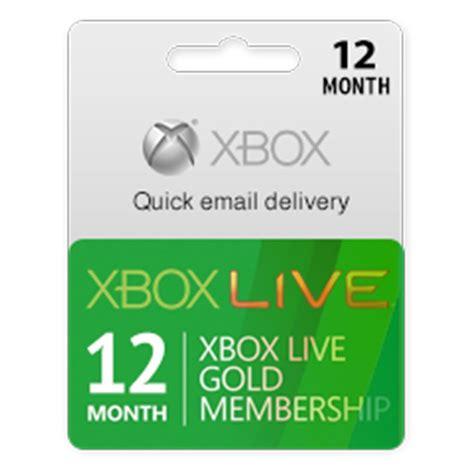 Xbox Live Gold Karte
