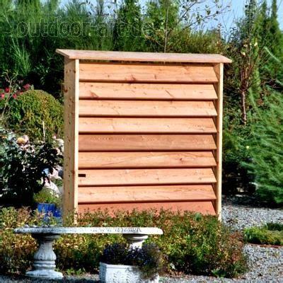 Garten Sichtschutz Holz Lamellen by Sichtschutz Windschutz Horizont Garten Sibirische