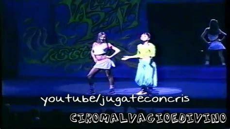 Rebelde Way - Mia y Marizza bailando Coulotte Sexy - YouTube