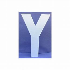 Lettre En Carton À Peindre : lettre 3d y 12cm maison pratic boutique pour vos loisirs creatifs et votre deco ~ Nature-et-papiers.com Idées de Décoration