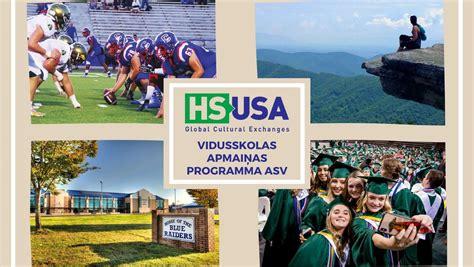 Vidusskolas apmaiņas programma ASV   Visas iespējas