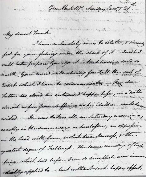 jane austen writing handwriting graphologysignatures
