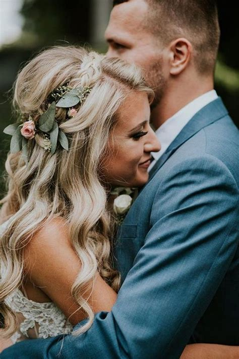 boho chic wedding hairstyles   big day